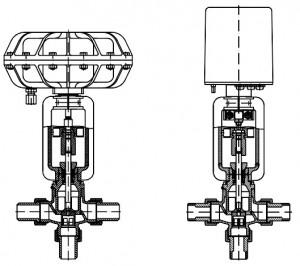 Cấu tạo của van điều khiển servo baelz