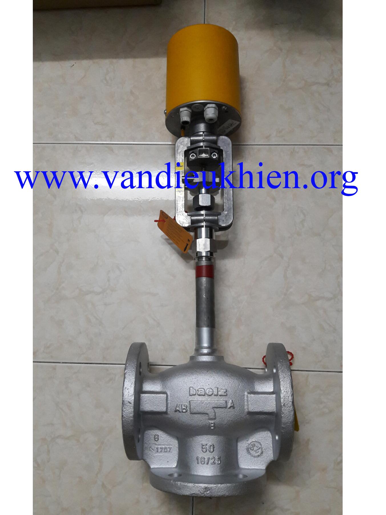 Van điều khiển dầu nóng DN50